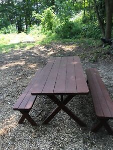 Cottage Picnic Table
