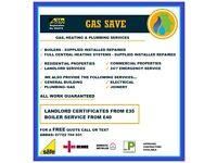 Gas Safe Engineer, Boiler Engineer, Central heating & Plumbing & Gas work Undertaken