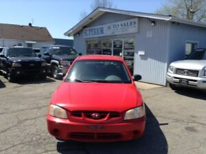 2001 Hyundai Accent GS Fully Certified!
