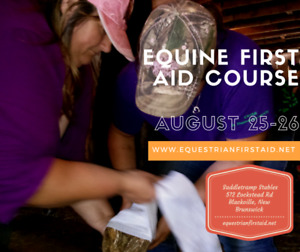 Equine First Aid clinic Blackville 25-26 August