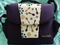 Munchkin All in One Portable Travel Fold Away Booster Seat Feeding Chair & Bag