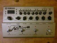 Yamaha AG Stomp - classic acoustic guitar Preamp/Mic Modeling/EQ & FX processor