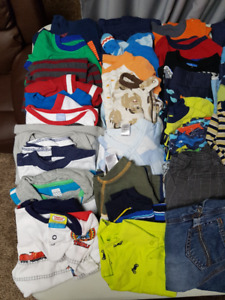 Boys 18 to 24mth clothing  95  pieces- have girls bundle too