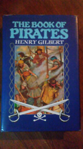 Pirate book hardcover $5