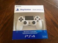 Official PS4 DualShock Controller (Glacier White) + BRAND NEW!