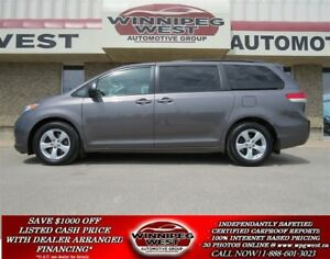 2012 Toyota Sienna LE 7 PASS, LOADED, LOCAL CLEAN MANITOBA TRADE