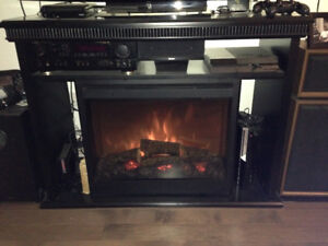 TV/Entertainment unit with Fireplace!