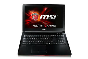MSI GP62 6QF-480CA Leopard Pro 15.6' FHD Gaming Laptop
