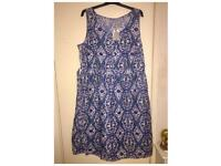 Sainsburys TU Summer Dress Brand New with Tags size 22