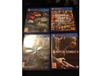 Grand theft auto 5 , the crew , need for speed , mortal kombat