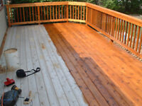 Deck Staining, Painting and Repair