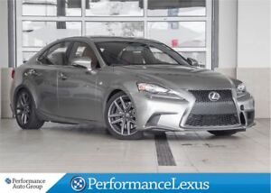 2014 Lexus IS 350 F SPORT PREMIUM PACKAGE!