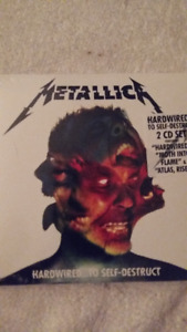 METALLICA-CD DU DERNIER ALBUM HARDWIRED...TO SELF DESTRUCT