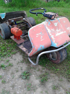Harley golf cart chassis