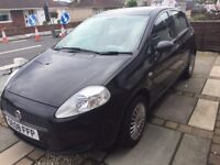 2008 08 Fiat Punto 1.2 81000 miles MOT till May 2018 recently Serviced. Great first car. £1200