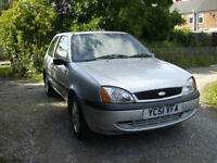 ford fiesta flight 1.3. full years mot two owners clean and tidy