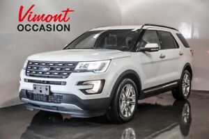 2016 Ford Explorer LIMITED CUIR TOIT MAGS GPS NO ACCIDENTS REPOR