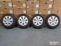 "15"" Audi A3 7 Spoke Alloy Wheels will fit a caddy van"