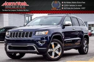 2016 Jeep Grand Cherokee Limited 4x4|Sunroof|Nav|Leather|HTD Sea