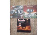 Status Quo Vinyls x3, 12 Gold bars vol 1+2, Quo, Quo live Original.