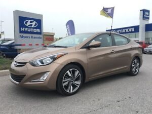 2016 Hyundai Elantra GLS SUNROOF, HEATED SEATS CRUISE