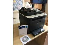 Samsung 3185FW Wireless laser colour printer, fax, scanner + USB port