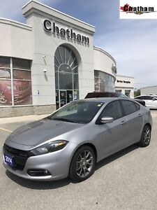 2014 Dodge Dart SXT/ ONE Local Owner/LOW KMS/ $50 Wkly