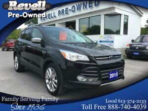 2015 Ford Escape SE 4WD  *1-owner  Moon/Leather/Nav/Only 11K