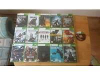 Xbox360 game bundle (16 games)
