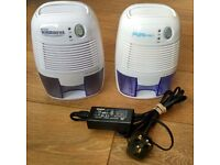 2x 500ML Electric Mini Air Dehumidifier - Used