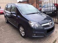 Vauxhall Zafira 1.8 16v Design - 2006, 12 Months MOT, Service History, 3 Owners, Half Leather, £2195