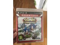 PlayStation 3 Sonic Generations Sega