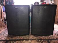 Peavey UL118S bass bins (pair)