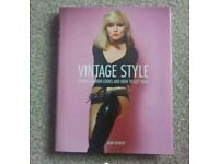 Vintage style book