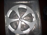 """Toyota PRIUS 2012-2016 15"""" & 5-spoke Hubcap Wheel cover/WHEEL Trim Cover PRIUS PARTS/PRIUS SPARES"""