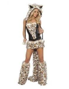 New Rave Costume for Sale (Leopard, Sexy Wolf and Penguin)