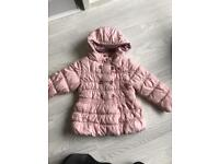 Girls NEXT coat 3-4years