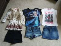 Bundle of girls clothing