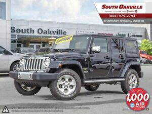 2014 Jeep Wrangler Unlimited Sahara | 4WD | HEATED LEATHER | NAV