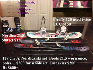 hockey,soccer,dance,skis,snowboards & misc other sporting goods