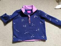 Joules electric blue sweatshirt and Joules tshirt Size 3-4