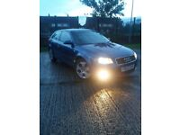 AUDI A3 2.0 TDI Sport Remaped 180bhp Manual 6 low millage £999 or swap