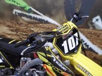 Suzuki RMZ 250 Motocross bike