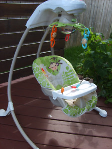Balancoire bébé Fisher Price baby swing