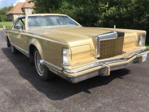 1978 Lincoln Continental DIAMOND JUBILEE EDITION (rare vehicle)