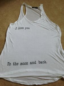 Brands Melville I love you to the moon and back tank top