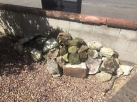 Free Rockery Stones - collection only