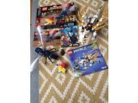 Lego antman final battle 76039 and ninjago dragon