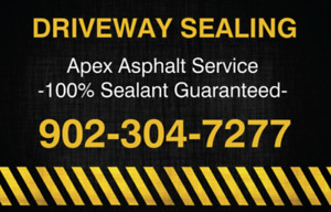 Free Quotes - Driveway Sealing in the CBRM!