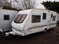 2002 Elddis Cyclone GT 5 berth caravan, Full Awning Great Family Layout !!